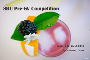 SBU Pre-GV Competition @ Hotel Seehof Davos  | Davos Dorf | Graubünden | Switzerland